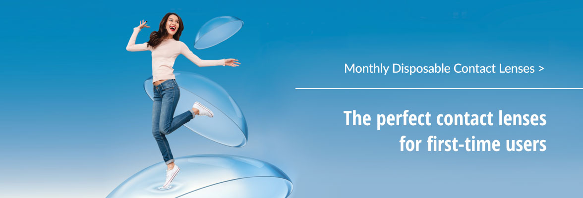 Monthly Disposable Contact Lens Malaysia