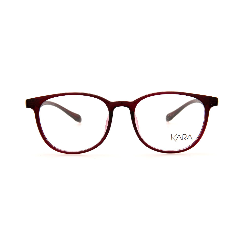 KARA BR2176 C3 Red Square Eyeglassess