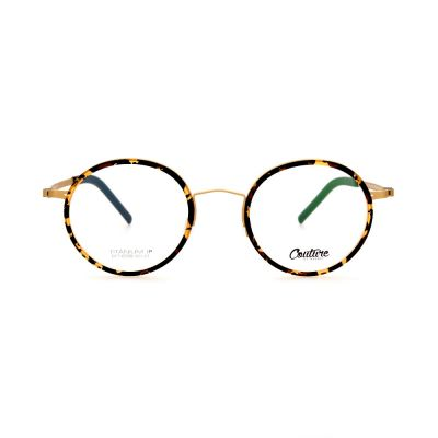 WHOOSH Couture Vintage Series Tortoise DFTI6289 C10 Unisex Eyeglasses