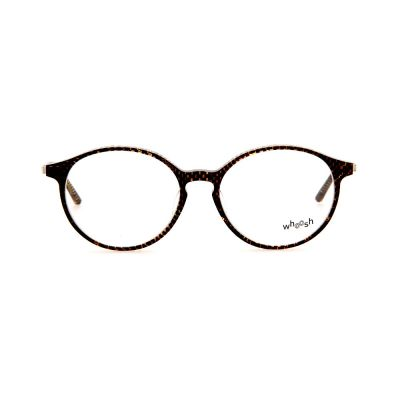 WHOOSH Vintage Series Brown Checkered Oval TT4203 C3 Eyeglasses
