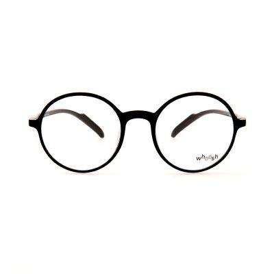 WHOOSH Black Round BR2163 C1 Eyeglasses