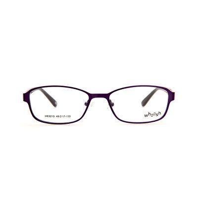 WHOOSH Urban Series Black/Baby Pink Rectangle HE5219 C2 Eyeglasses