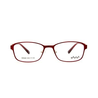 WHOOSH Urban Series Red Oval HE5222 C3 Eyeglasses