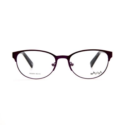 WHOOSH Urban Series Black Classy Oval HE5209 C2 Woman Eyeglasses