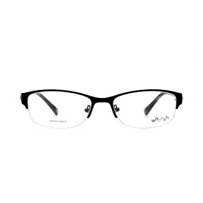 WHOOSH Urban Series Black Rectangle HE5210 C1 Woman Eyeglasses