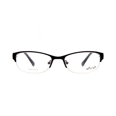 WHOOSH Urban Series Lifestyle Black Rectangle HE5210 C2 Woman Eyeglasses