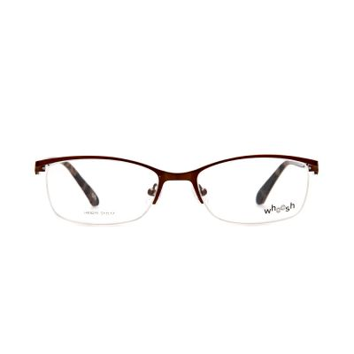 WHOOSH Urban Series Maroon Rectangle HE5211 C2 Man Eyeglasses