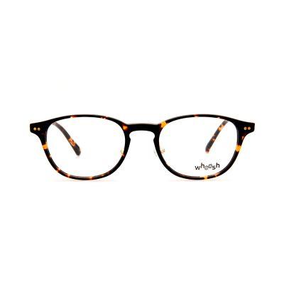 WHOOSH Vintage Series HES166 C2 Tortoise/Gold Oval Unisex Eyeglasses
