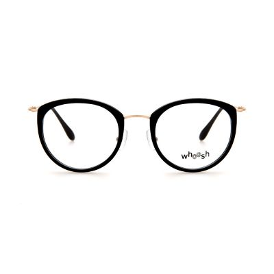 WHOOSH Vintage Series Oval Black/Gold OK15907 C1 Eyeglasses