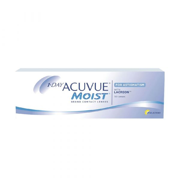 1 Day Acuvue Moist for Astigmatism (30 PCS)