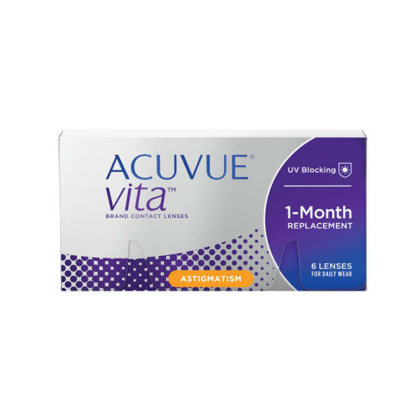 Acuvue Vita for Astigmatism Monthly (6 PCS)