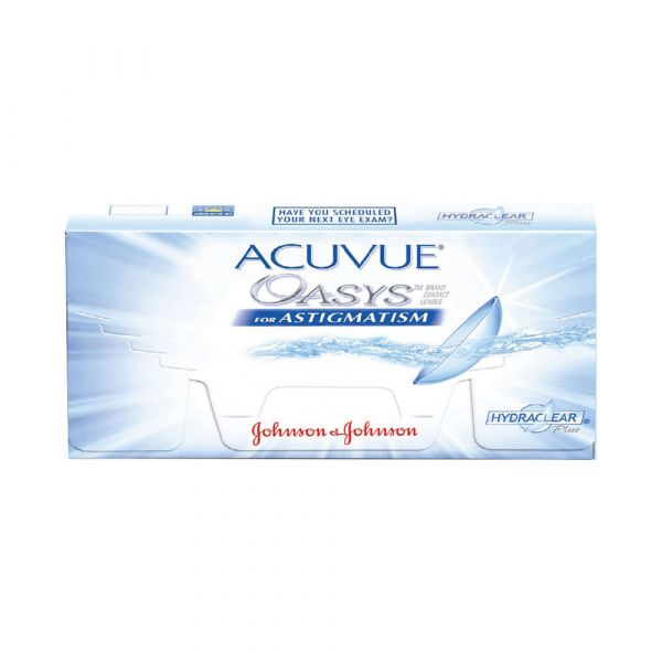 Acuvue Oasys for Astigmatism Bi-Weekly (6 PCS)