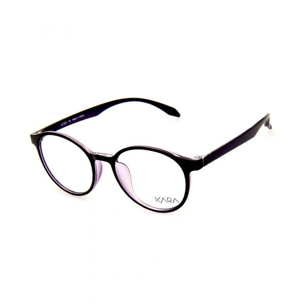 KARA BR2162 C4 Purple Oval Eyeglasses