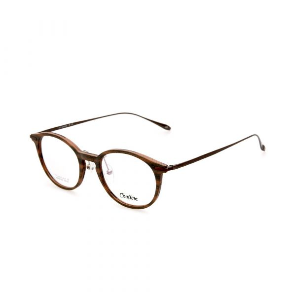 WHOOSH Couture Vintage Series Wood DFM5106 C3 Unisex Eyeglasses