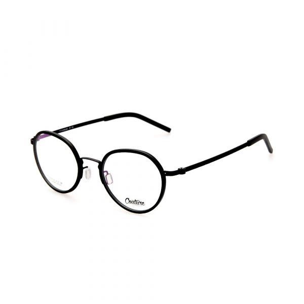 WHOOSH Couture Vintage Series Black DFTI6288 C1 Unisex Eyeglasses