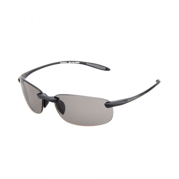 SERENGETI Nuvola 8447 Rimless/Grey Polarized Sunglasses
