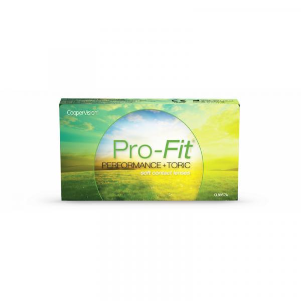 Pro-Fit Performance+ Toric Monthly (6 PCS)
