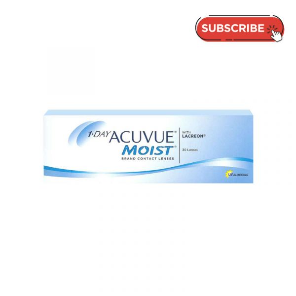 1 Day Acuvue Moist (30 PCS) Subscription Plan