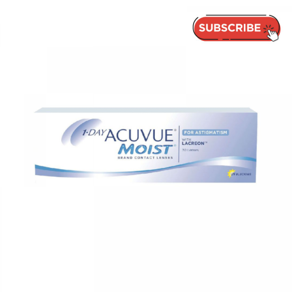 1 Day Acuvue Moist for Astigmatism (30 PCS) Subscription Plan