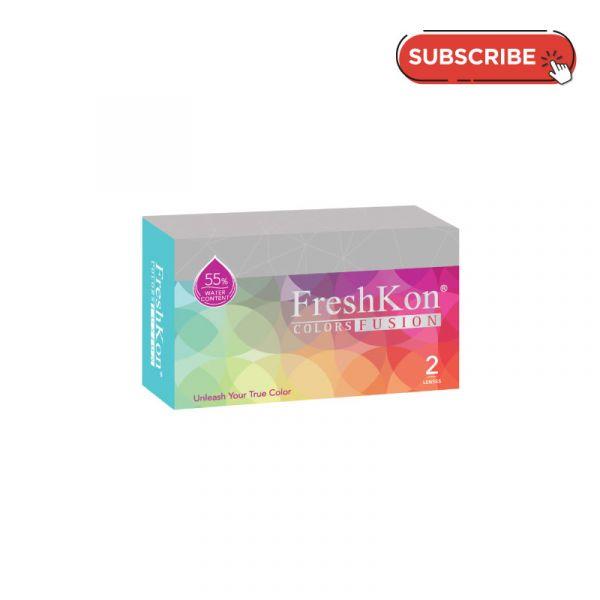 Freshkon Colors Fusion Monthly (2 PCS) Subscription Plan