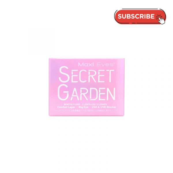 Maxi Eyes Secret Garden Monthly (2 PCS) Subscription Plan