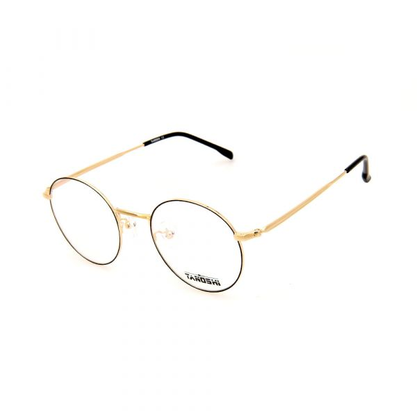 TANOSHI DE16328 C02 Round Gold Eyeglasses