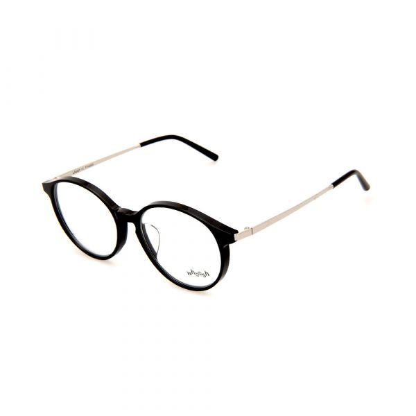 WHOOSH Vintage Series Black/Silver Oval TT4203 C1 Eyeglasses