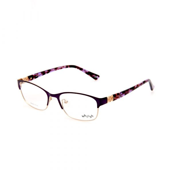 WHOOSH Urban Series Flower Printed Rectangle HE5208 C2 Woman Eyeglasses