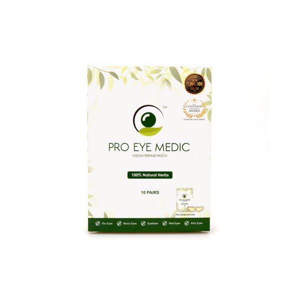 Pro Eye Medic Vision Repair Patch (10 Pairs)