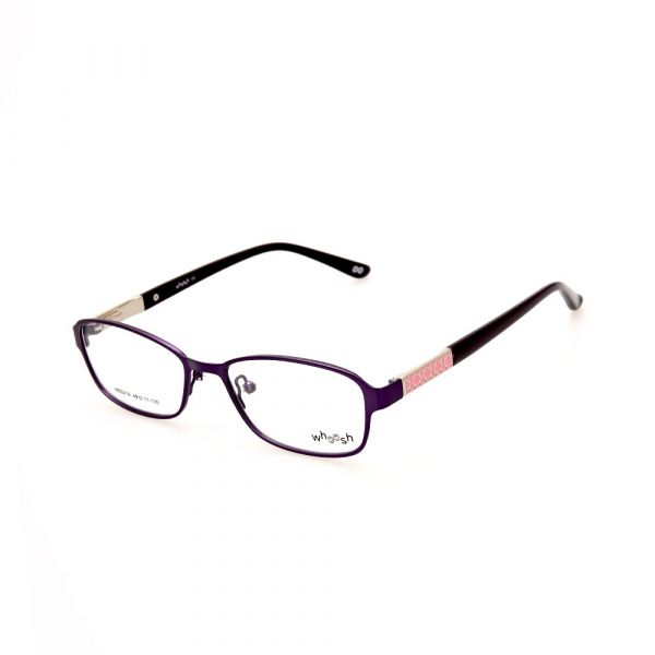 WHOOSH Urban Series Black/Baby Pink Rectangle HE5219 C2 Eyeglasses