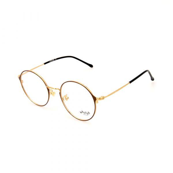 WHOOSH Urban Series Brown/Gold Round WFIH1012 C9 Eyeglasses
