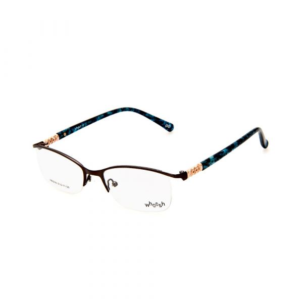 WHOOSH Urban Series Tortoise Blue Rectangle HE5218 C1 Eyeglasses