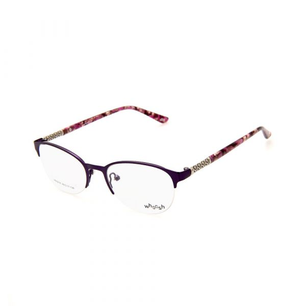 WHOOSH Urban Series Tortoise Purple Oval HE5216 C3 Eyeglasses