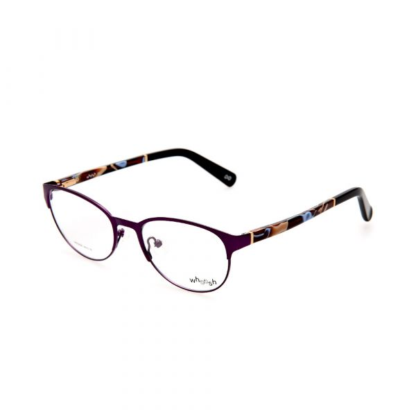 WHOOSH Urban Series Black Classy Oval HE5209 C2 Woman Eyeglasses