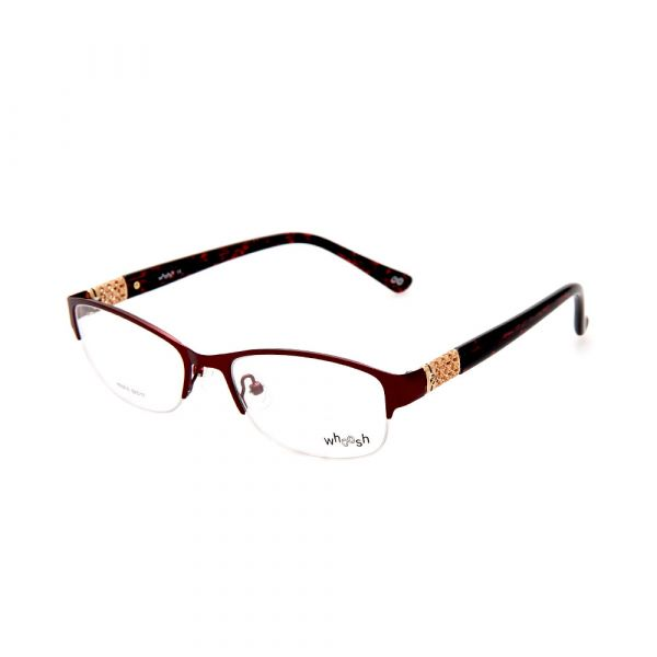 WHOOSH Urban series Lifestyle Maroon Rectangle HE5210 C3 Woman Eyeglasses