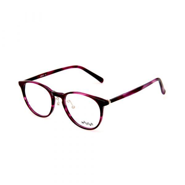 WHOOSH Vintage Series HES164 C3 Pink Tortoise Oval Female Eyeglasses