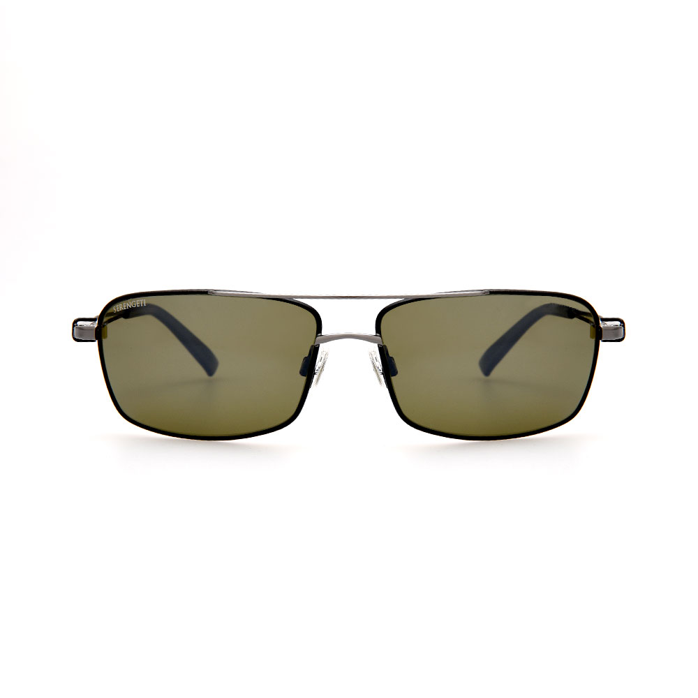 SERENGETI 7115 DANTE SHINY AVIATOR SUNGLASSES
