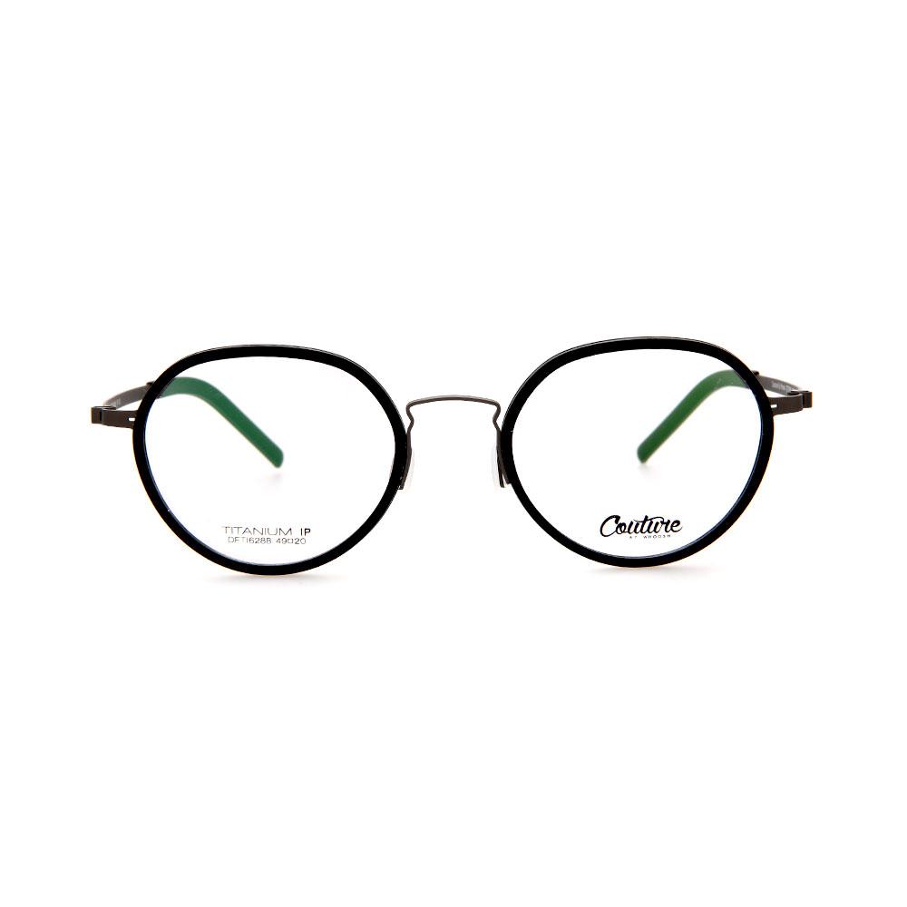 WHOOSH Couture Vintage Series Black DFTI6288 C1A Unisex Eyeglasses