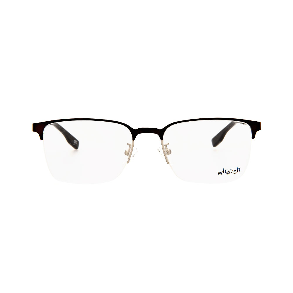 WHOOSH Urban Series Black/Gold Rectangle HE2285 C3 Eyeglasses