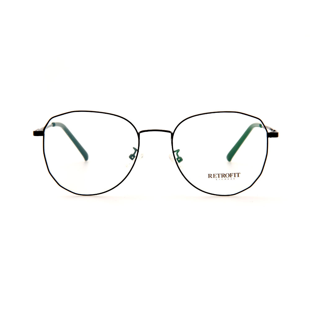 RETROFIT WFIH1042 C3 Black Eyeglasses