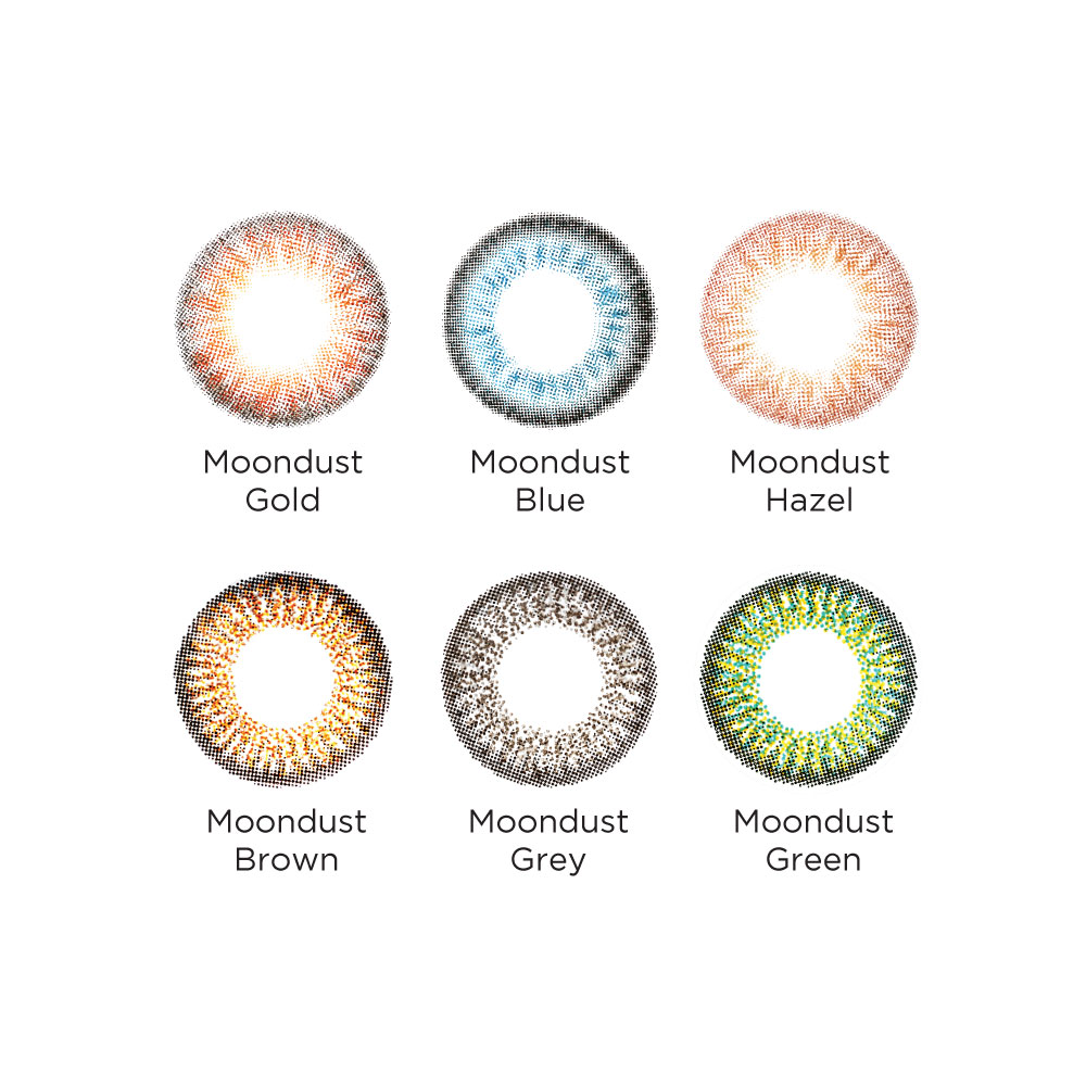 Freshkon Colors Fusion Moondust Monthly (2 PCS)