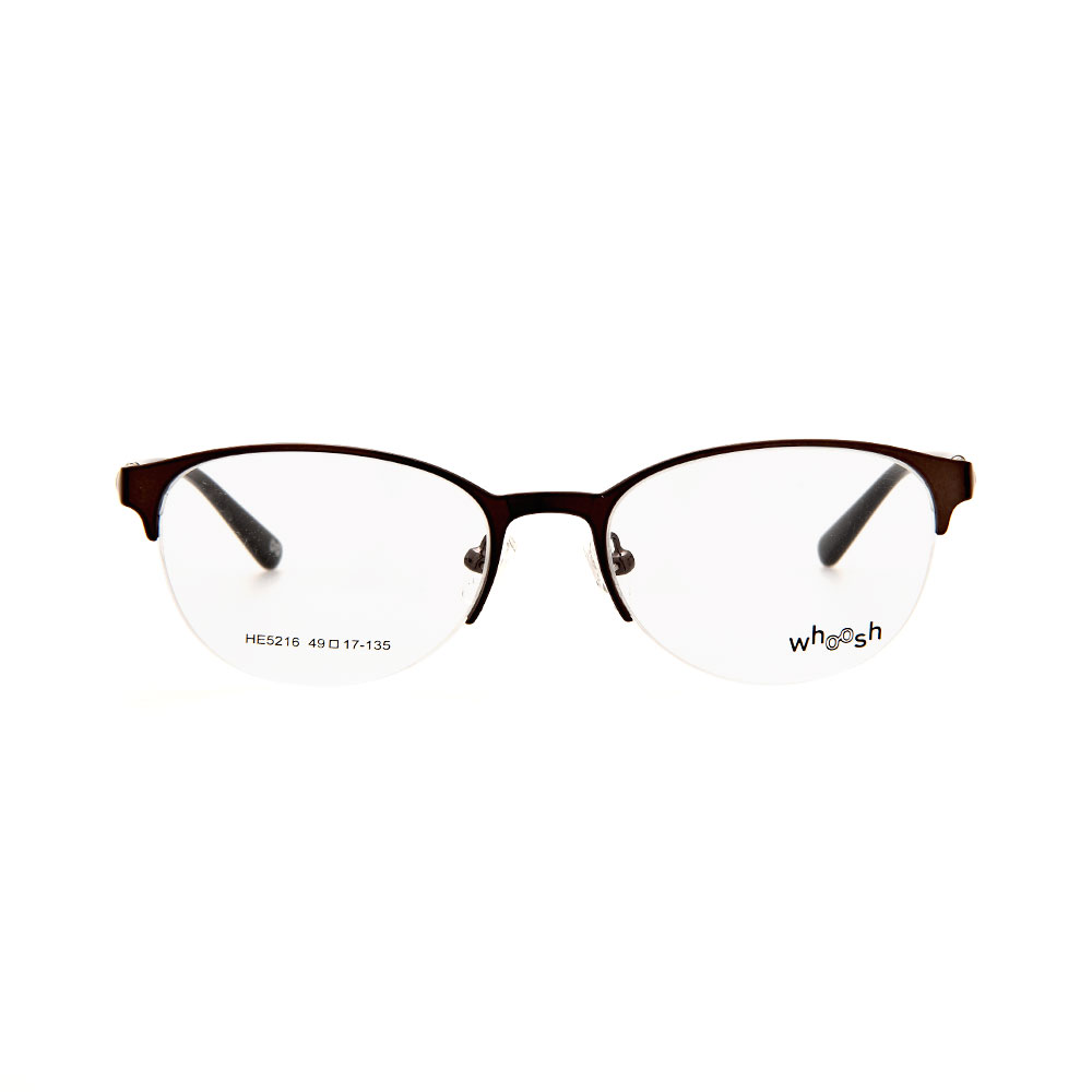 WHOOSH Urban Series Black Oval HE5216 C1 Eyeglasses