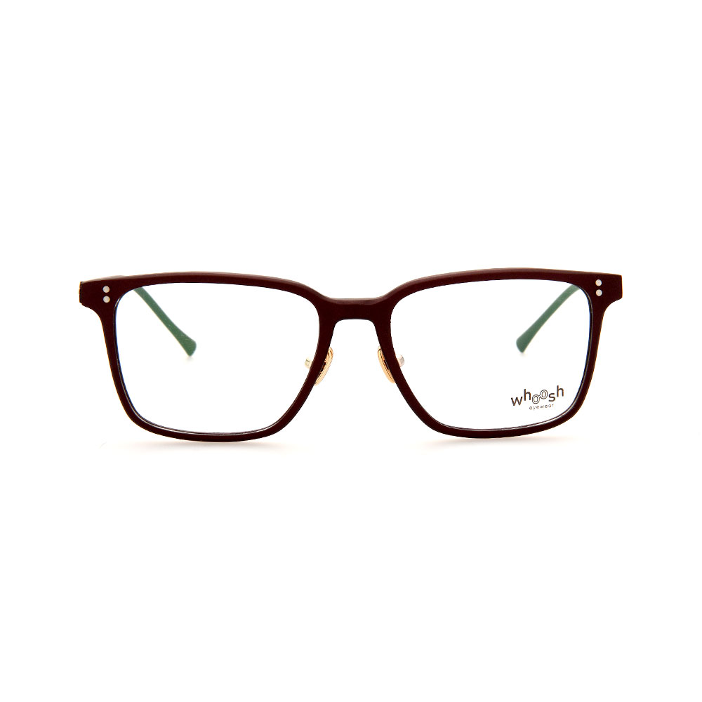 WHOOSH Urban Series Brown Square WFIH1003 C4 Eyeglasses