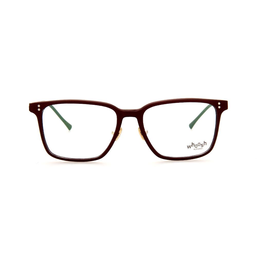 WHOOSH Urban Series Brown Square WFIH1003 C4 Eyeglasses
