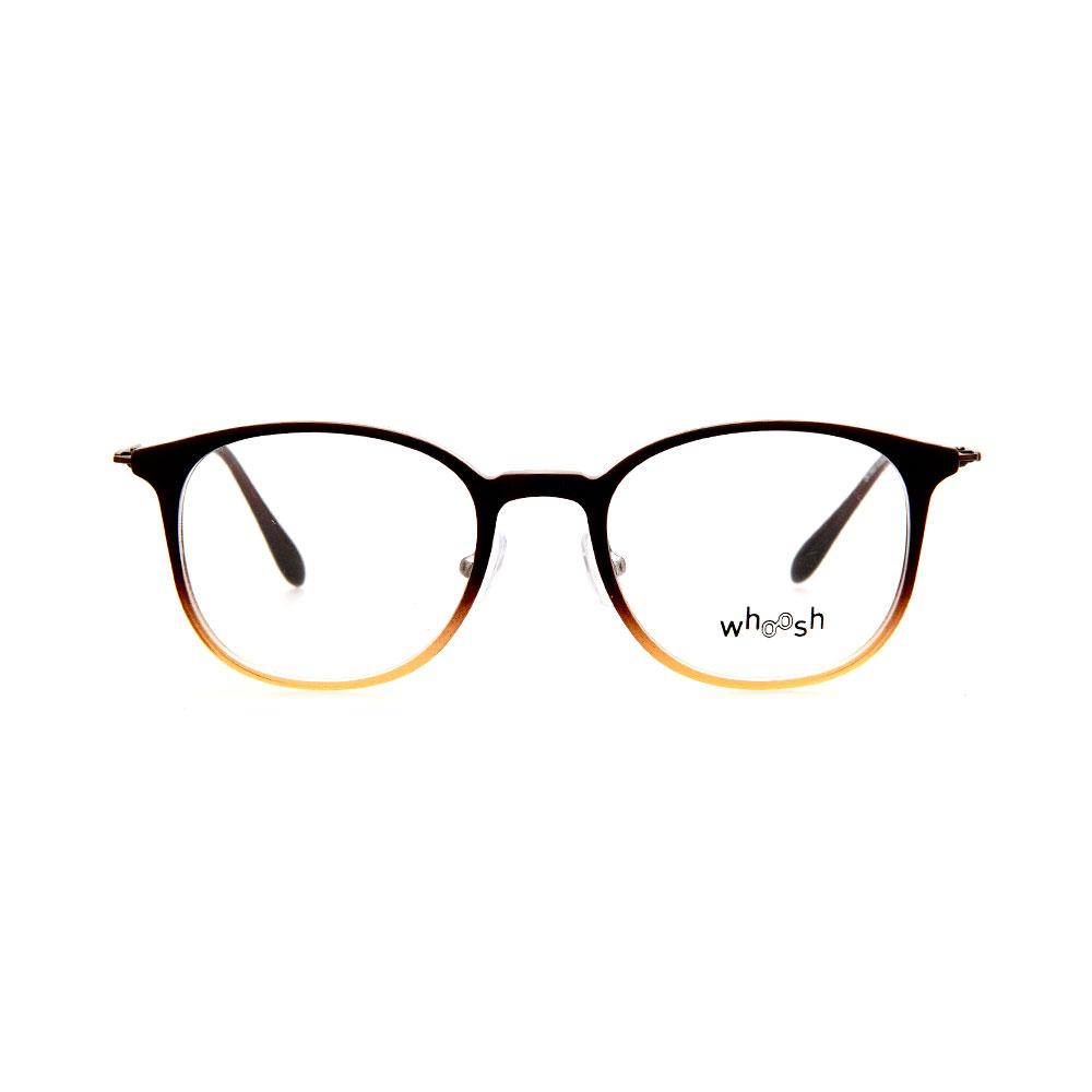 WHOOSH Trendy Series Oval Gradient Brown OK15905 C1 Eyeglasses