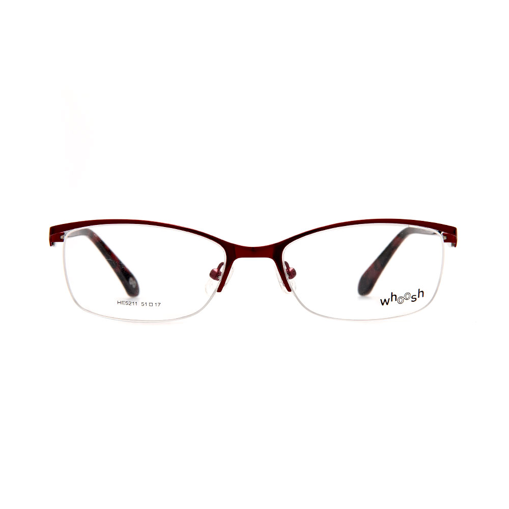 WHOOSH Urban Series Dark Brown Rectangle HE521 C3 Man Eyeglasses