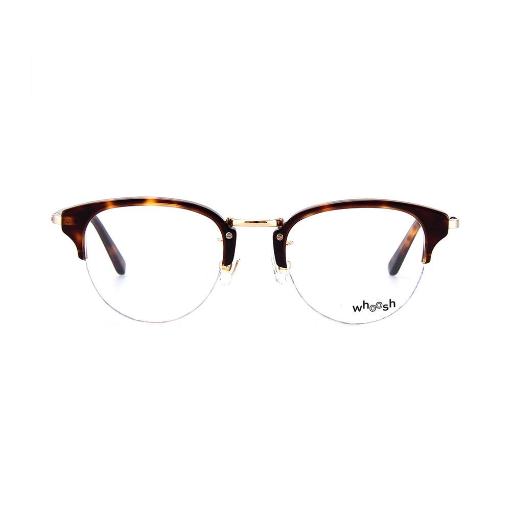 WHOOSH Vintage Series Tortoise Clubmaster HES-135 C2 Eyewear