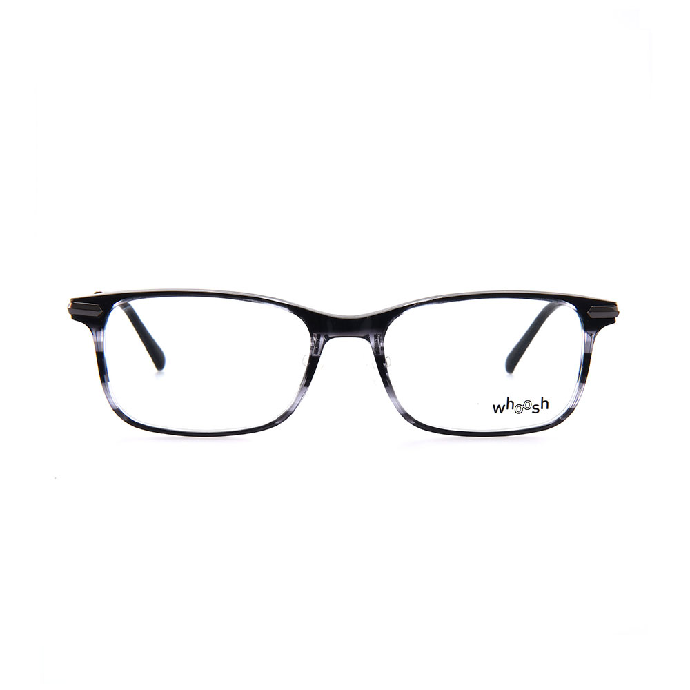 WHOOSH Vintage Series Black & White Rectangle HES-143 C2 Eyewear