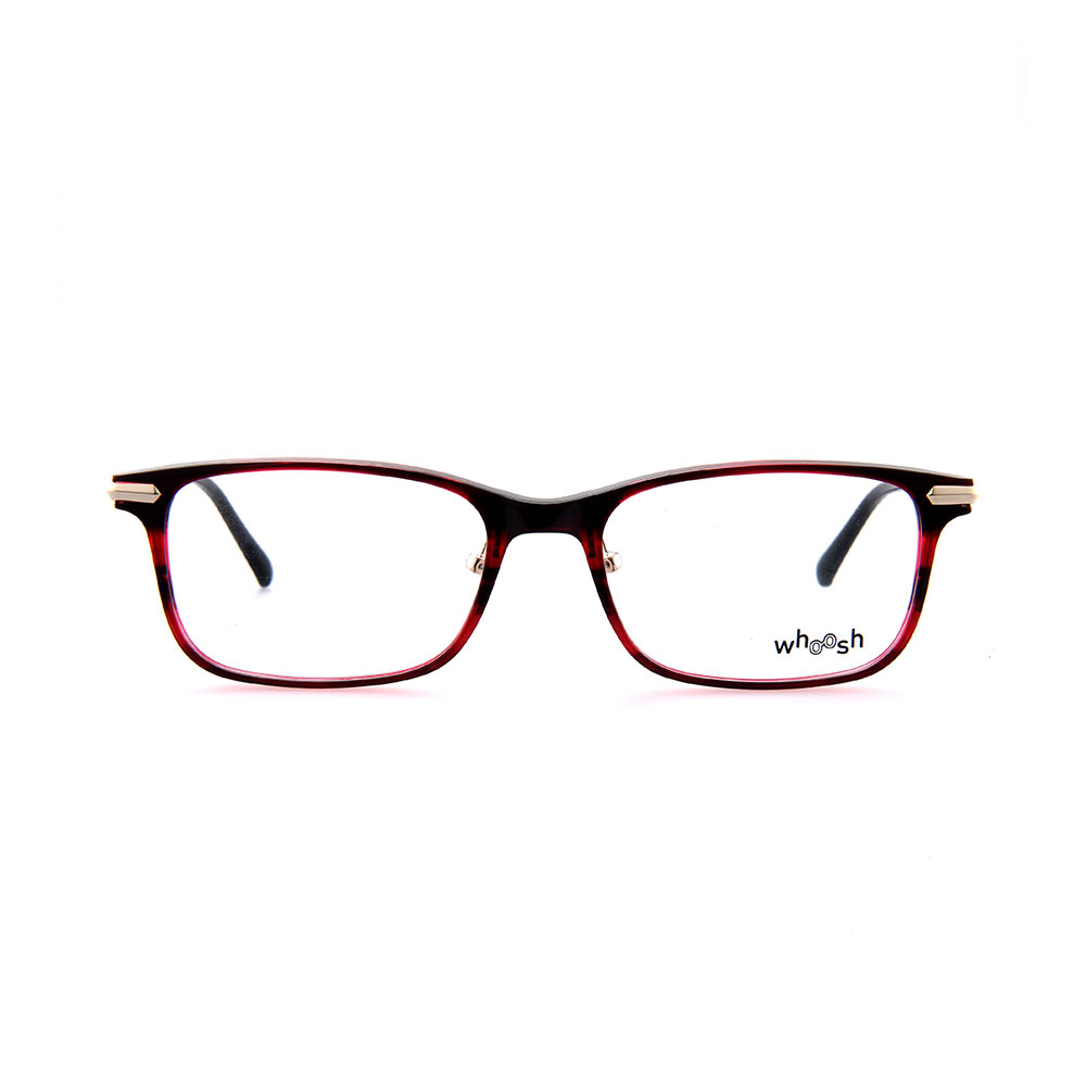 WHOOSH Vintage Series Red & Black Rectangle HES-143 C4 Eyewear