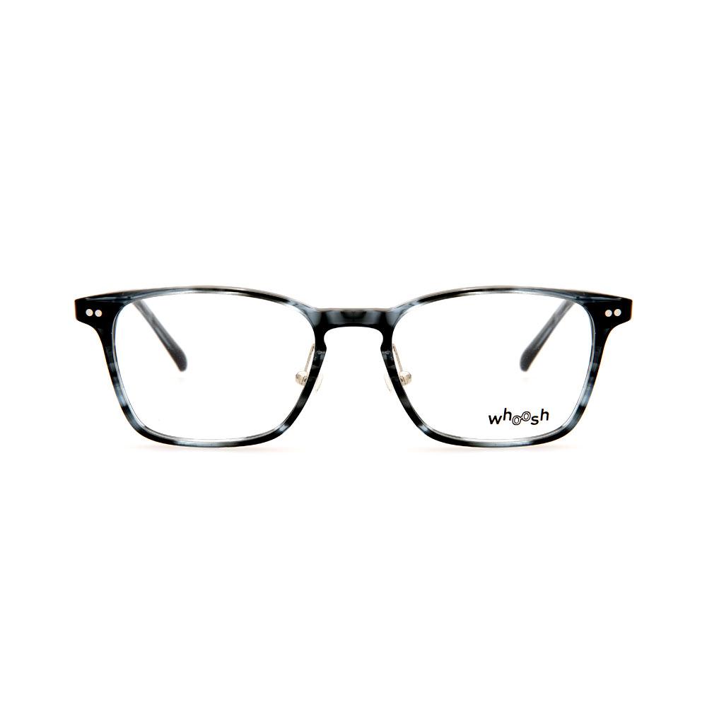 WHOOSH Vintage Series  Grey Tortoise Square Unisex HES165 C2 Eyeglasses